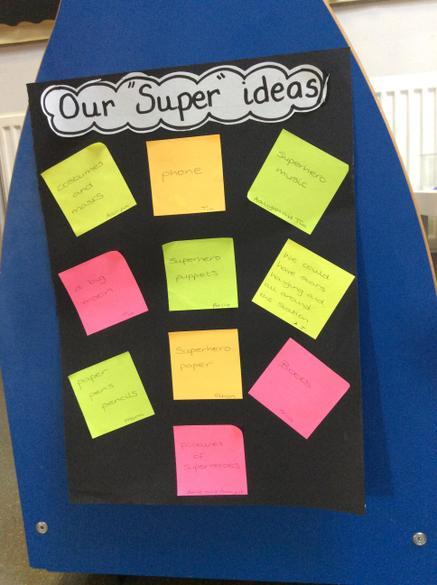 The children's ideas
