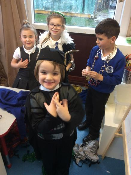 we had so much fun creating characters
