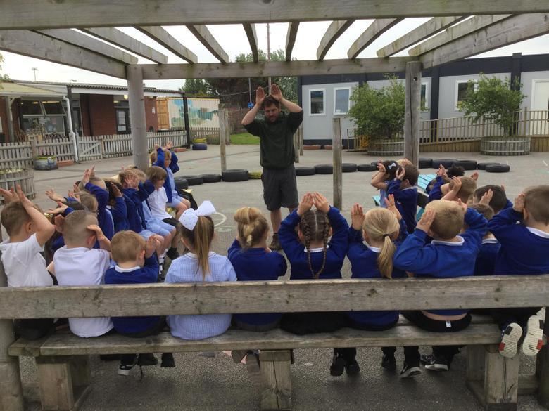 Manorafon Farm Park visited our school