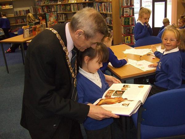 Oct 2012 - Kinmel Bay Library Visit