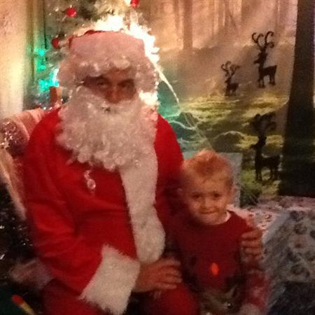 We went to see Father Christmas