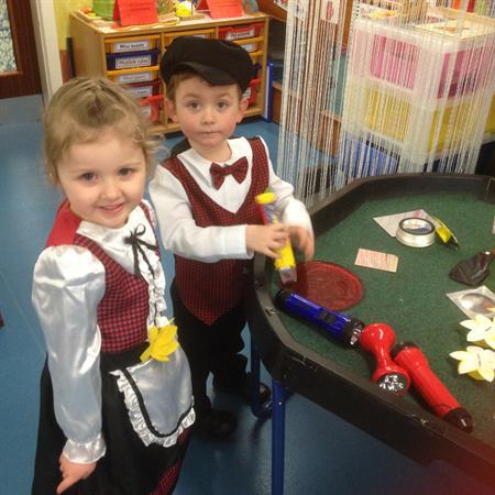 Traditional Welsh Costumes