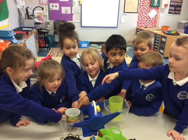 We had great fun learning