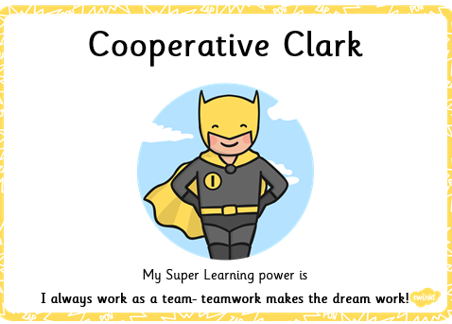 Cooperative Clark loves team work!