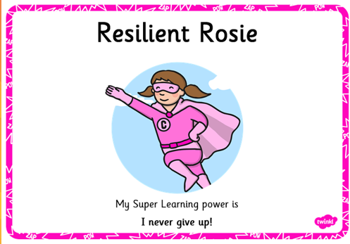 Resilient Rosie never gives up!