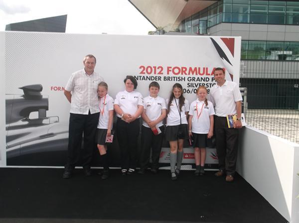 BH Ddraig at Silverstone - F1 in Schools 2012