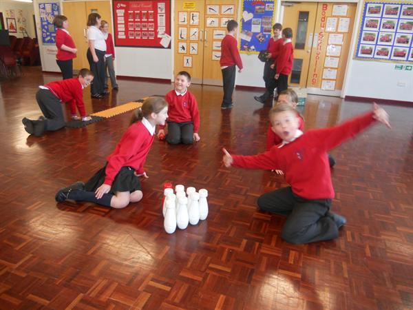 Reward play. Well done children!