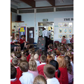 Premier League Trophy visits our school!