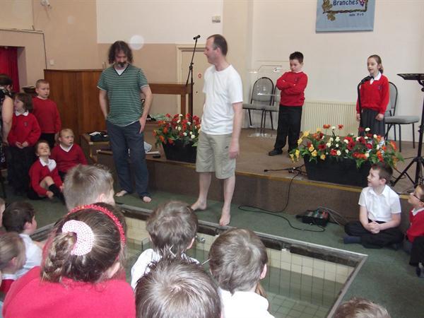 Rev Trevor Casey tells us about Baptism.