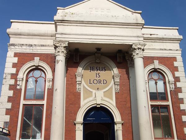 Our visit to the Baptist Church