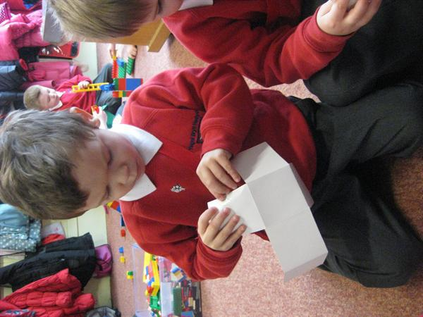 Junior made his own smallest house in Wales