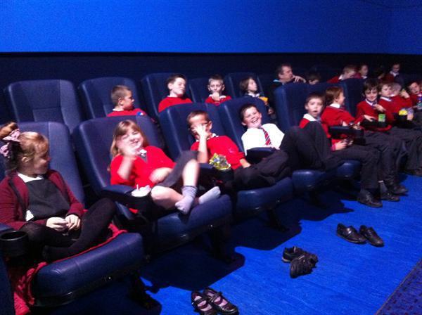 Year 5 enjoy 'National Film Week'!