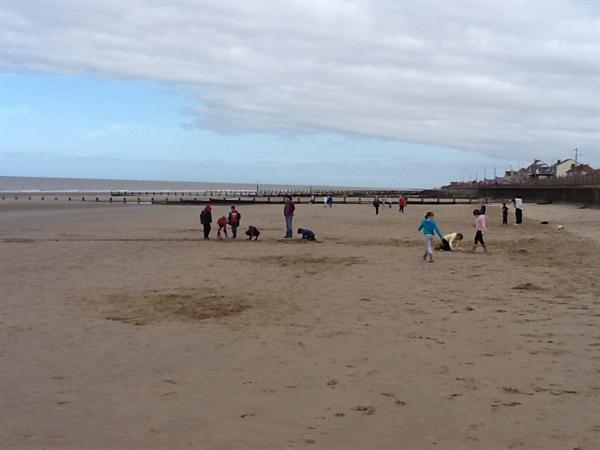 Year 2 had a fantastic beach day
