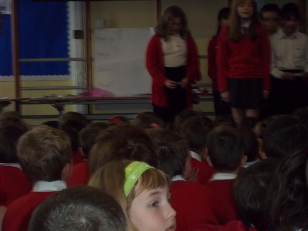 Our whole school Eisteddfod