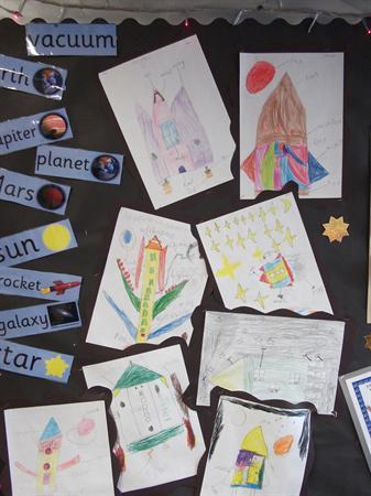 We have designed space rockets.