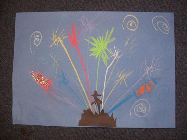 Bonfire artwork by Thomas Sanders