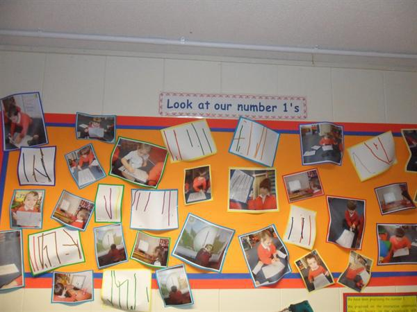 Inside our classroom / Our displays