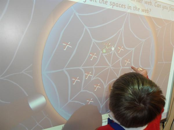 Incy Wincy Spider Interactive game
