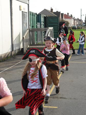 Year 3 had a great time on 'Pirate Day!'