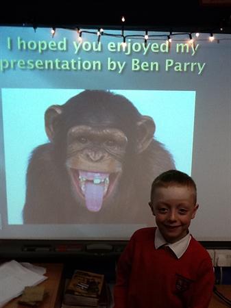 We did a fantastic job of our presentations!