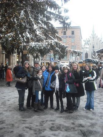 A snowy Munich