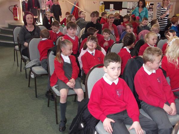 The Bryn Hedydd congregation gathered together