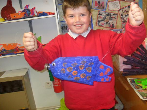 Look at our 'fintastic' sea creatures!