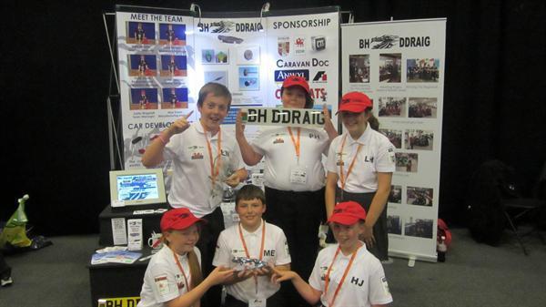 BH Ddraig - British Champions 2012