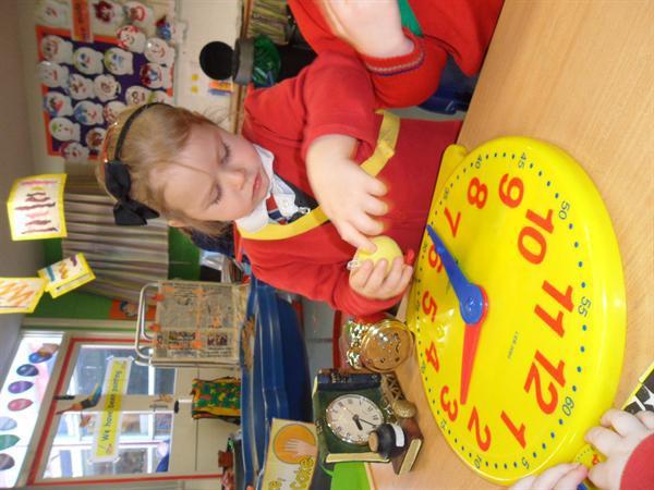 Having fun with Nursery Rhymes