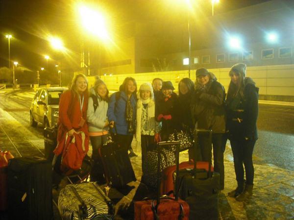 Manchester Airport..... 4am!!