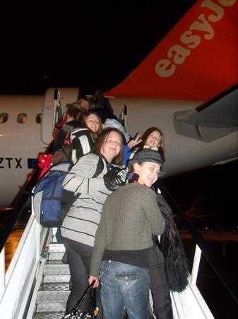 Off we go!