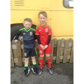 young rugby players