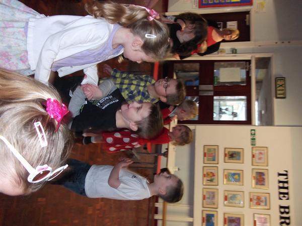 Dancing at the tea dance
