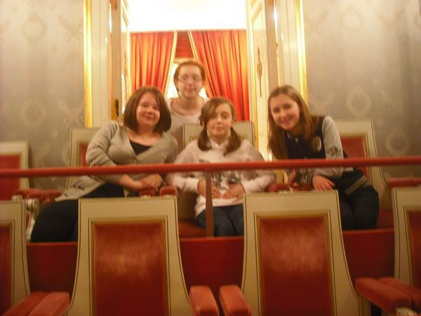 Sitting in the Royal Box in the Munich Opera House