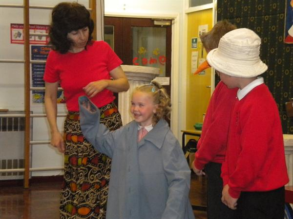 The infants took part in 'Cry Wolf'