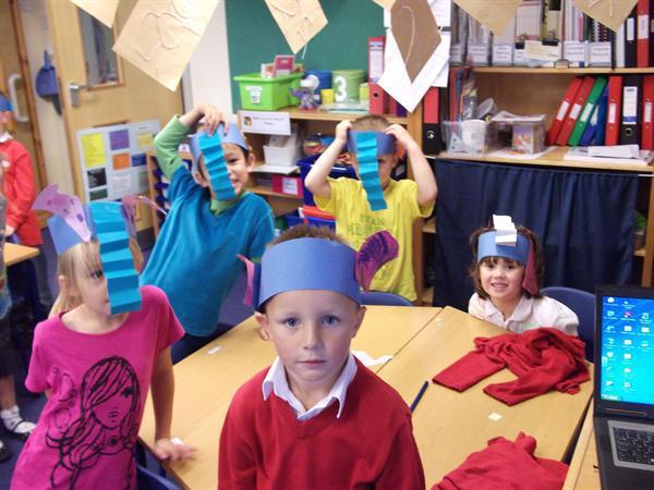 Elephant headdresses