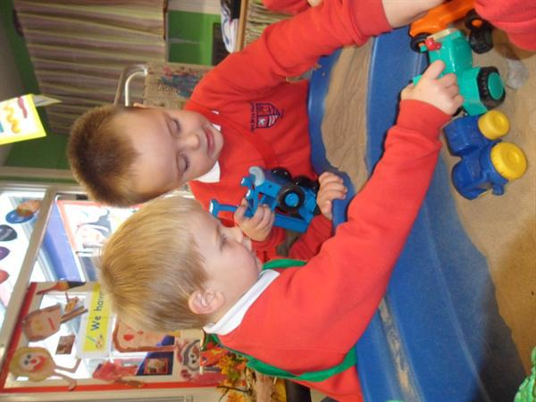 Happy in Nursery