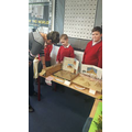 Year 3CS pupils displaying their Egyptian Museum