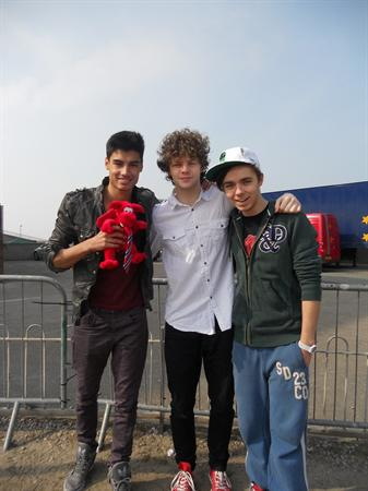 Dafydd Meets The Wanted!