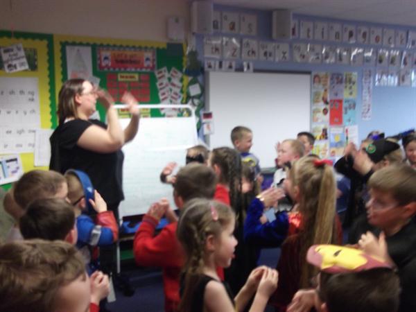 superman dance-still fun!