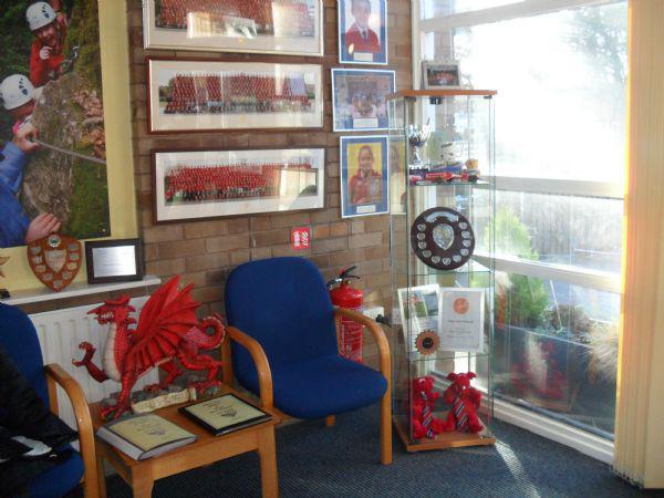 Our School foyer