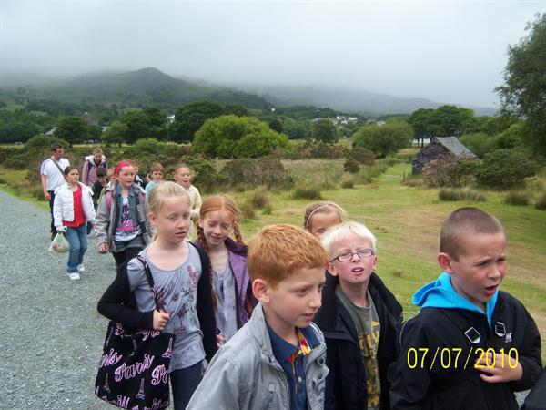 Year 4 having a great time on their trip
