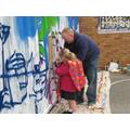 The 'Good Graffiti' project hits YBH!
