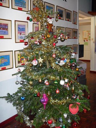Our School Christmas tree