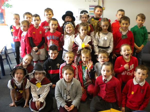 On Friday we enjoyed a school Eisteddfod.