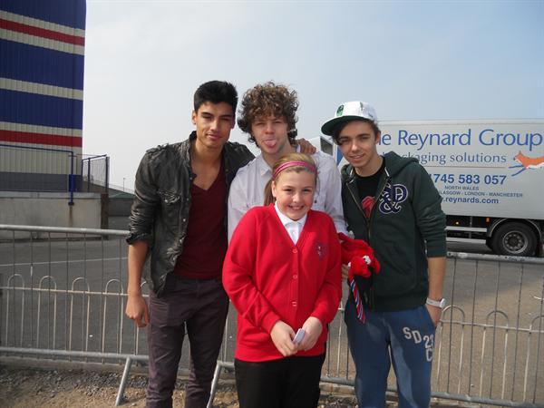 Hannah and the boys!
