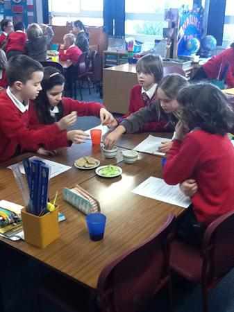 Our Seder Meal in March