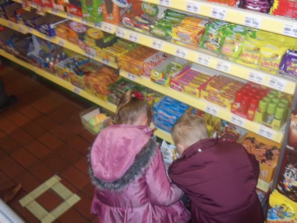 Choosing what to buy.