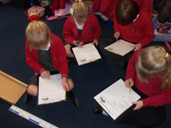 Recording how far the Space buggy travelled.