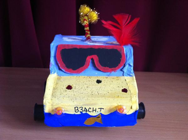 The Beach Buggy - 3rd place for best design.